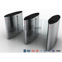 Best Electric Sliding Controlled Access Turnstile Waist Height For Traffic System wholesale