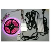 Best Indoor / outdoor bright remote RGB LED Strips Light 12v 24v flexiable PCB Material wholesale