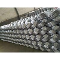 Best 20 Gauge Galvanized Iron Wire Binding / Low Carbon Steel Hexagonal Wire Mesh wholesale