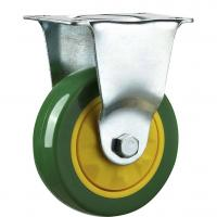 Best Stainless Steel Green Blue Caster Wheels For Furniture Hollow Mounting wholesale