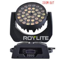 Best 10w RGBW Multi Color Led Moving Head Wash Light With Zooming Beam Angle 10° -  60° wholesale