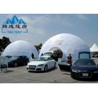Best Galvanized Transparent Geodesic Dome Tent House 6M/8M/10M For Trade Show wholesale