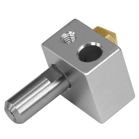 Best Silver 0.5mm 0.8mm MK10 3D Printer Extrusion Head Stainless Steel wholesale
