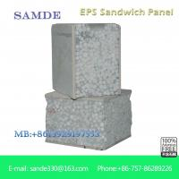 Best what is the material for interior and exterior wall for eps sandwich panel 2440*610*75mm wholesale