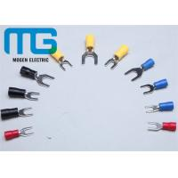 Best Series SV copper electrical spade Insulated Wire Terminals red blue black yellow TU-JTK wholesale