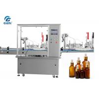Best High Precision Automatic Liquid Filling Machine For Essential Oil Glass Container wholesale