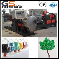 Cheap Double Screw PVC Cable Plastic Granules Machine With Two Stage Components for sale