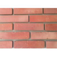 Quality 3D51-3 Clay Thin Veneer Brick Turned Color Veneer Brick With Smooth Surface Edge Damages Style wholesale