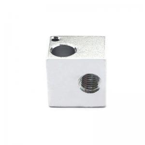 Best 16*16*12mm Aluminum E3D V5 3D Printer Heater Block For Makerbot wholesale