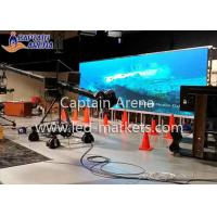 Best P 6 Outdoor Stage Background LED Screen SMD 3535 7500 mcd Brightness wholesale