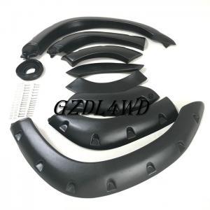 Best Matte Black Wheel Arch Flares For Toyota Land Cruiser 80 Series / 4x4 Auto Accessories wholesale