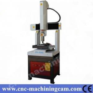 Best Delta servo motor mini cnc machine for metal ZK-4040(400*400*400mm) wholesale