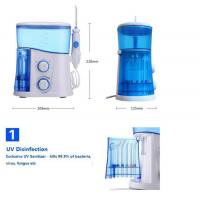 Buy cheap Wholesale price OEM CE RoHS approved dental cleaning water jet flosser for home oral care from wholesalers