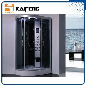 Cheap Tempered Glass Jet Quadrant Shower Cabin , Large Corner Shower Enclosures for sale