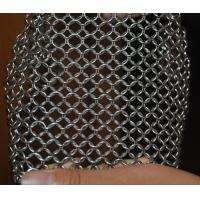 Best 304 Stainless Steel Chainmail Scrubber Kitchen Cast Iron Hardware Cleaner 7 * 7 inch wholesale