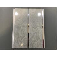 High Strength Peanut Pattern Groove Shaped PVC Wood Panels 250 × 7mm
