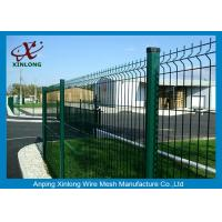 Cheap PVC Coated Bending Welded Wire Mesh Fence For Garden And Home for sale