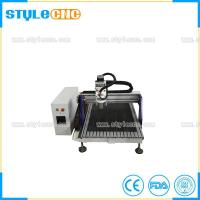 China Ball Screw Transmission Mini 6090 cnc router 2D and 3D woodworking machine for sale on sale