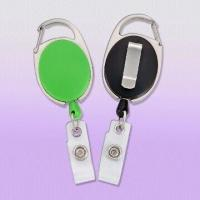 Best Premium Carabiner Style Badge Reels with Slide Clip Back wholesale
