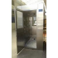 Best 4 - 8 Person Intelligent Stainless Steel Air Shower , Class 100 Air Shower Room wholesale