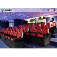 Best 3 Seats / Set Bearing 450Kg 5D Movie Theater For 39 Chairs Cinema Entertainment wholesale