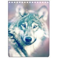 Best Custom A4 A5 A6 Wolf Images 3D Lenticular Cover With PET / PP Friendly Material wholesale