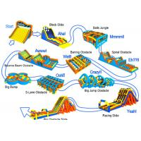 Buy cheap World Biggest Cross-Country Race Inflatable 5k Obstacle Course from wholesalers