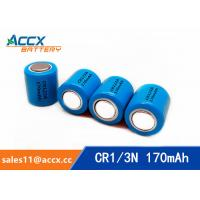 Best CR1/3N 3.0V 170mAh limno2 battery manufacturer wholesale
