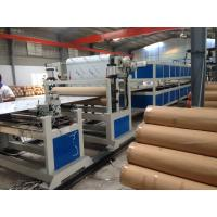 Best PE Pipe Machine Aluminum Composite Panel Line 5m / min 1200mm Height wholesale