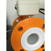 Quality Divided Type Electromagnetic Flow Meter In High Temperature CE / CMC / ISO9001 wholesale