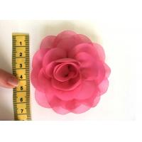 Best Rose Design Handmade Fabric Corsage Flower For UK High Street Shop Brand wholesale
