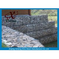Buy cheap Galfan Galvanized Gabion Box , Gabion Wall Baskets For Riverbed Garden from wholesalers