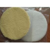 Best Durable 6 Inch Wool Polishing Pad Round Shape High Security For Car Care wholesale
