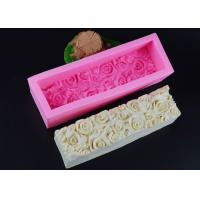 Best Microwave Safe Rose Silicone Bread Mold Non Stick Durable Eco - Friendly wholesale