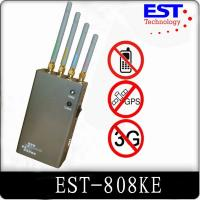 Best Indoor 30dbm Portable Cell Phone Jammer 1 Watt For Conference Room wholesale
