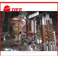 Best 500L Copper Distiller Apparatus , Industrial Alcohol Distillation Equipment wholesale