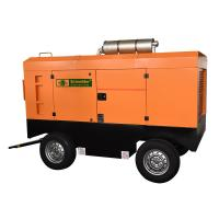 Best Light Weight Diesel Powered Portable Air Compressor Good Dynamic Balance wholesale