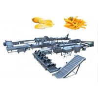 Buy cheap Industrial Automatic Potato Chips Making Machine 2.2kw Power High Performance from wholesalers