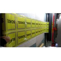 Best Reflective Single Side PVC Vinyl Banners For Highway / Warning Sign wholesale