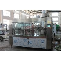 Best 8000BPH Big Capacity Juice Bottling Machine Glass And Plastic Bottle Filling And Packing wholesale