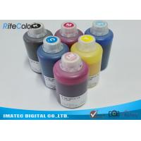 Best DX-7 Printer Head Dye Sublimation Heat Transfer Ink For T Shirt Printing 1.1kgs Per Bottle wholesale