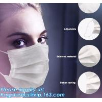 Best FDA approval medical non woven surgical disposable 3 ply earloop face mask,Disposable 3ply medical earloop face mask wholesale
