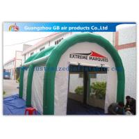 China Sturdy Bespoke Fire Retardant Inflatable Air Tent Expandable Trade Show Booths on sale