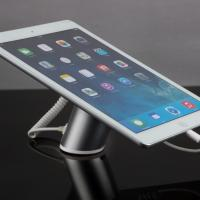 Best COMER Anti-theft Device Retail tablet security tabletop display stands with charging cables wholesale