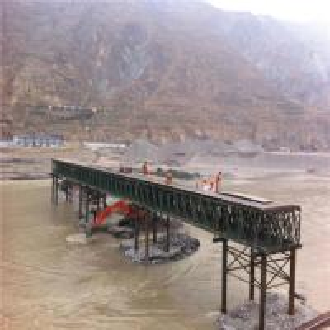 Easy Assemble Floating Pontoon Bridge Emergency Use Temporary Steel Bridge