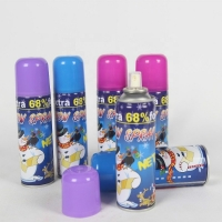 Best Resin 200ml Tinplate Can Flake Snow Spray For Celebration Party wholesale