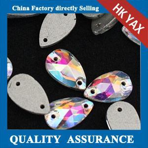 Best wholesale China sewing stones for wedding dress,crystal AB sew on rhinestones wholesale