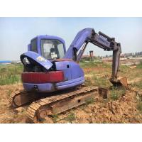 Buy cheap 6 Cylinders Koamtsu PC75 Mini Digging Machine No Any Damage With Original Turbo from wholesalers
