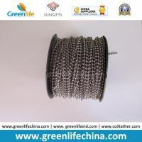 Best Custom Packing in Roll Silver Plated Metal Bead Fastenering Chain wholesale