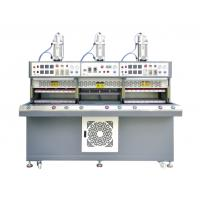 Best Automatic Sports Shoe Making Machine Three Station For Hot Cold Blister Pressing wholesale